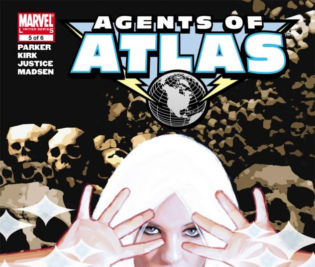 Agents of Atlas (2006) #5 Cover