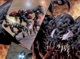 DARK AVENGERS/UNCANNY X-MEN: EXODUS #1 preview art by Mike Deodato