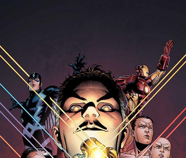 New Avengers: Illuminati #2 cover by Jim Cheung