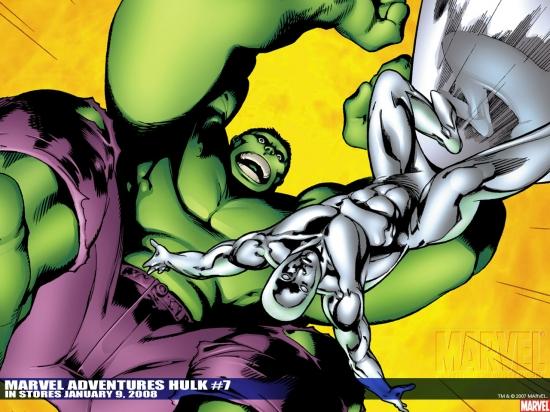 Marvel Adventures Hulk (2007) #7 Wallpaper
