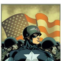 CAPTAIN AMERICA: THE FIGHTING AVENGER #1 cover