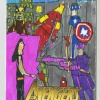 The Avengers #1 fan drawn variant cover