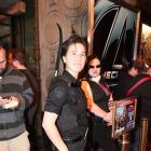 Hawkeye cosplayer at El Capitan Theatre's midnight screening of Marvel's The Avengers