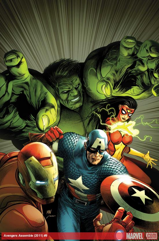 Avengers Assemble #9 Cover