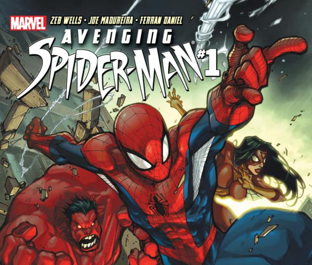 Avenging Spider-Man (2011) #1 Cover