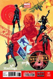 Secret Avengers #1  (Hastings Variant)