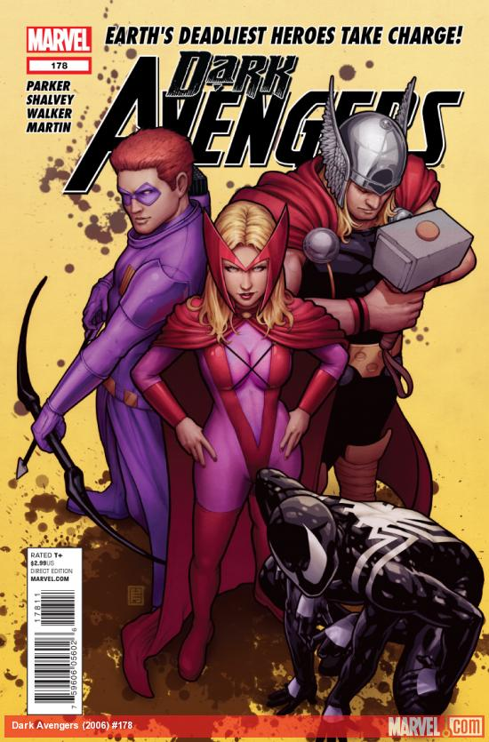Cover: Dark Avengers (2006) #178