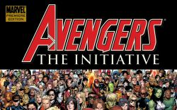 Avengers: The Initiative Vol. 1 - Basic Training Premiere (2007) HC