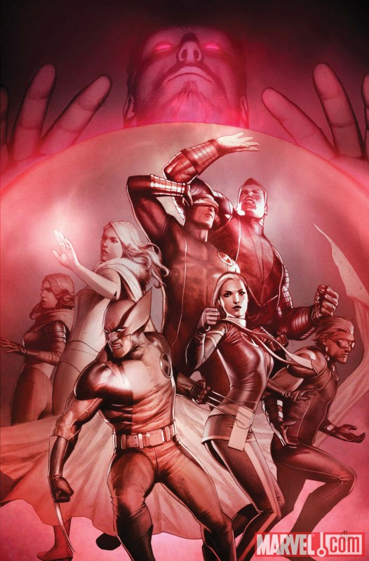 Image Featuring Wolverine, X-Men, Hope Summers, Cannonball, Colossus, Cyclops, Emma Frost