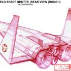 Animation Exclusive: Planet Hulk Space Shuttle