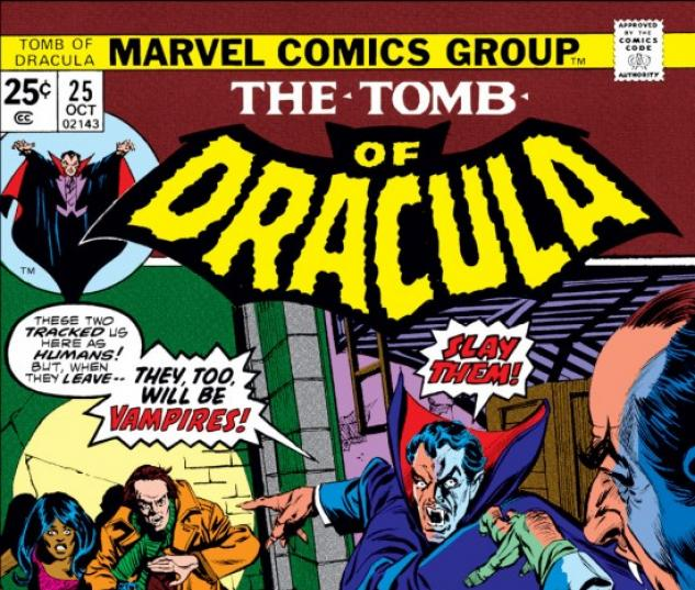 Tomb Of Dracula #25