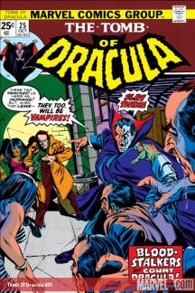 Tomb of Dracula (1972) #25