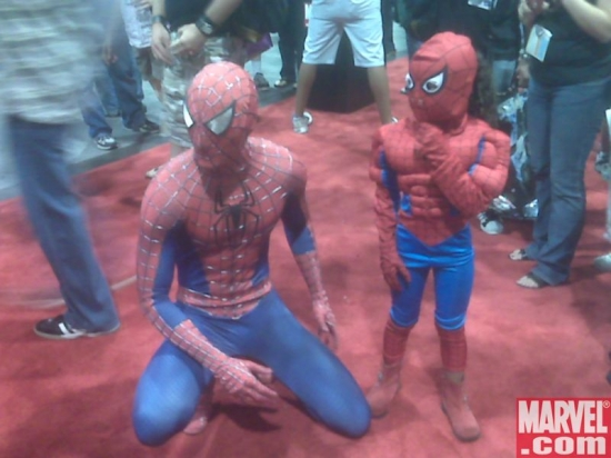 Spidey &amp; Spidey!