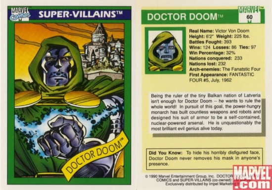 Doctor Doom, Card #60