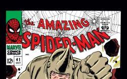 AMAZING SPIDER-MAN #41 COVER