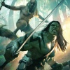 Skaar: King of the Savage Land #1 cover by Michael Komarck