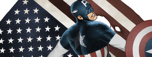 Psych Ward: Captain America