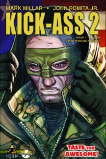 Kick-Ass 2 (2010) #1 (5th Printing Variant)