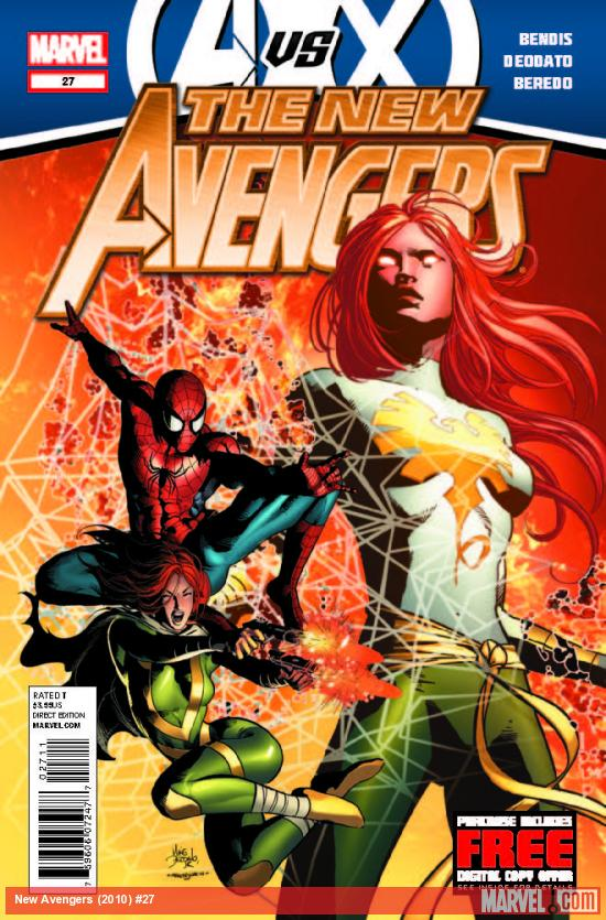 NEW AVENGERS 27 (AVX, WITH DIGITAL CODE)