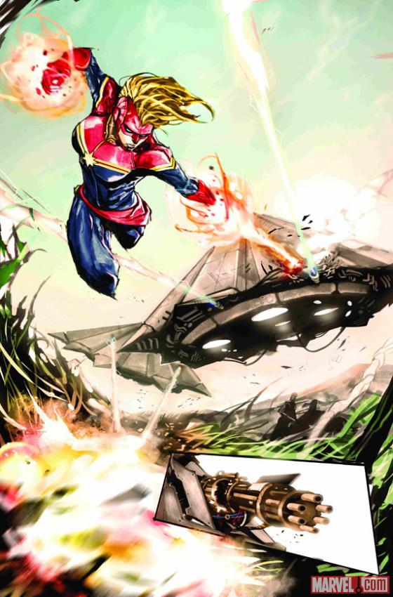 Your First Look At Captain Marvel #3!