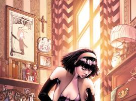 Astonishing X-Men #52 cover by Dustin Weaver