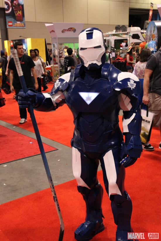 Iron Man cosplayer at Fan Expo 2012