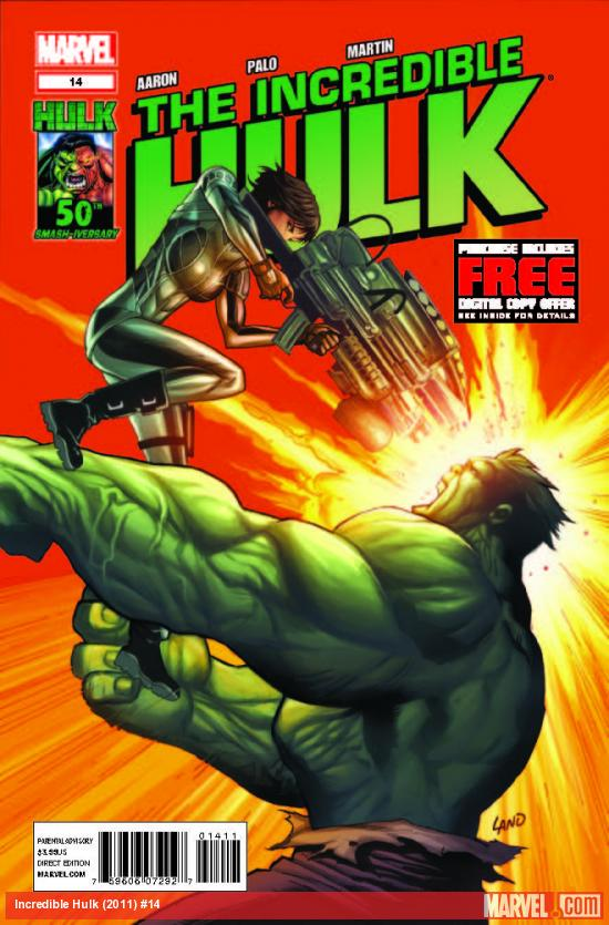 INCREDIBLE HULK 14 (WITH DIGITAL CODE)
