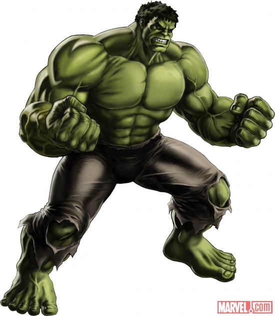 Hulk (Marvel's The Avengers alternate costume) in Marvel: Avengers Alliance
