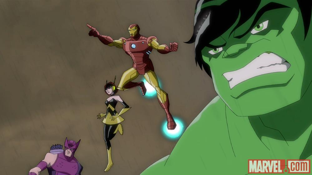 The Avengers assemble in Earth's Mightiest Heroes!