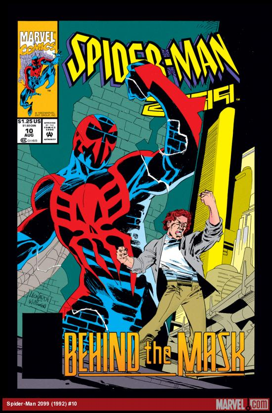 Spider-Man 2099 (1992) #10 Cover