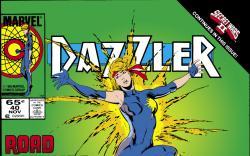 Dazzler (1981) #40 Cover