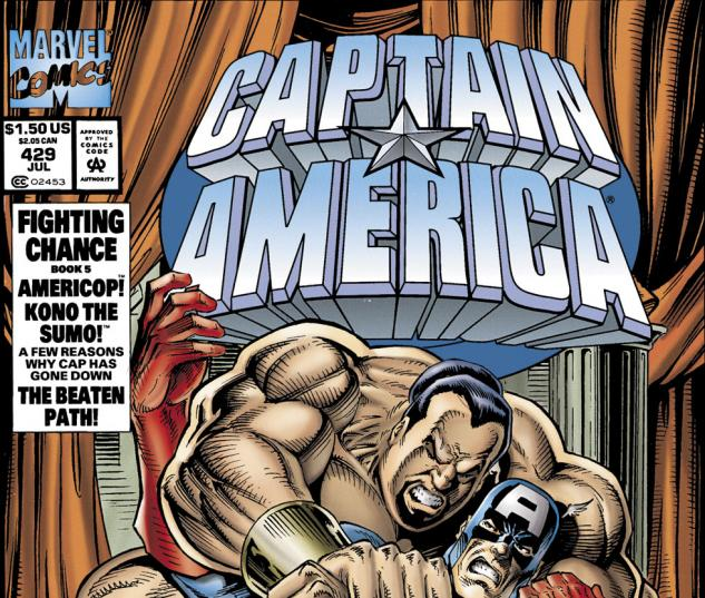 Captain America (1968) #429 Cover