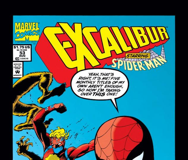 Excalibur (1988) #53 Cover