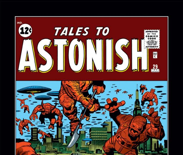 Tales to Astonish (1959) #29 Cover