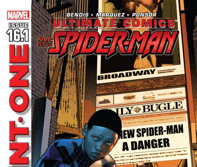 Ultimate Comics Spider-Man (2011) #16.1 Cover