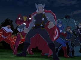 Earth's Mightiest Heroes stand together in Marvel's Avengers Assemble - All-Father's Day