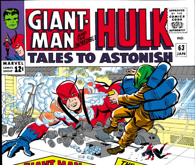 Tales to Astonish (1959) #63 Cover