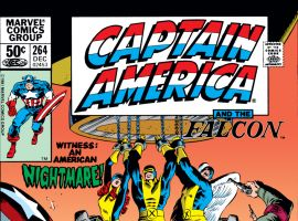 Captain America (1968) #264 Cover