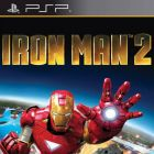 Iron Man 2: The Video Game PSP Box Art