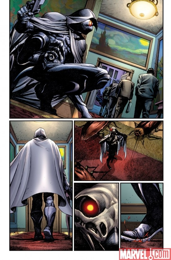VENGEANCE OF THE MOON KNIGHT #2 preview art by Jerome Opena