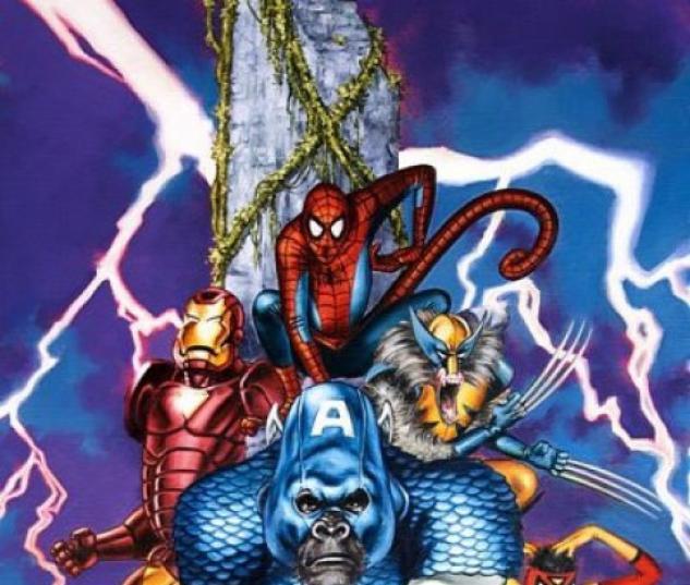 Marvel Apes (2008) #1