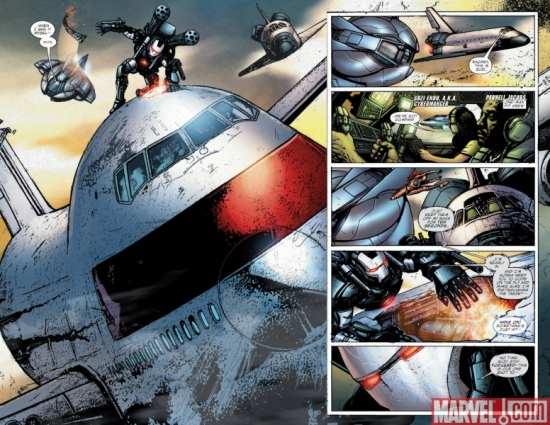 WAR MACHINE #8, pages 2-3