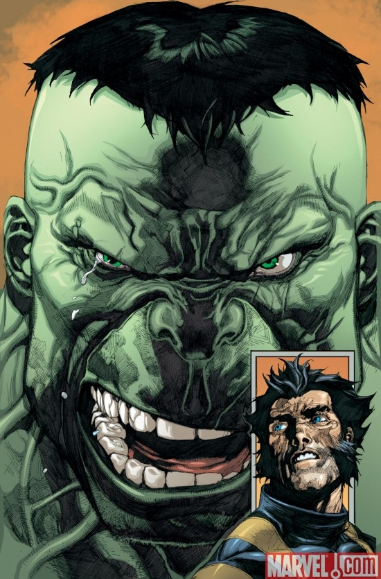 ULTIMATE WOLVERINE VS HULK #4 SECOND PRINTING VARIANT