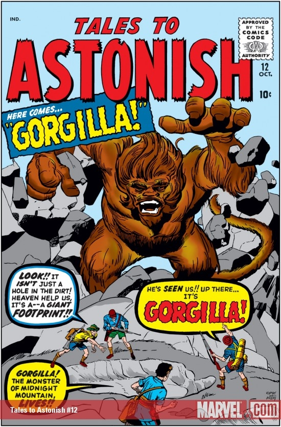 Tales to Astonish #12