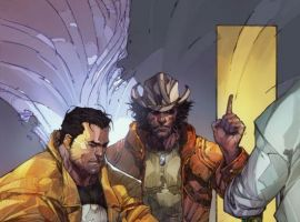 ASTONISHING TALES: WOLVERINE/PUNISHER #1 preview art by Kenneth Rocafort