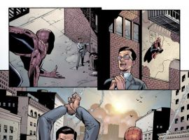 AMAZING SPIDER-MAN #573 preview art by Patrick Oliffe
