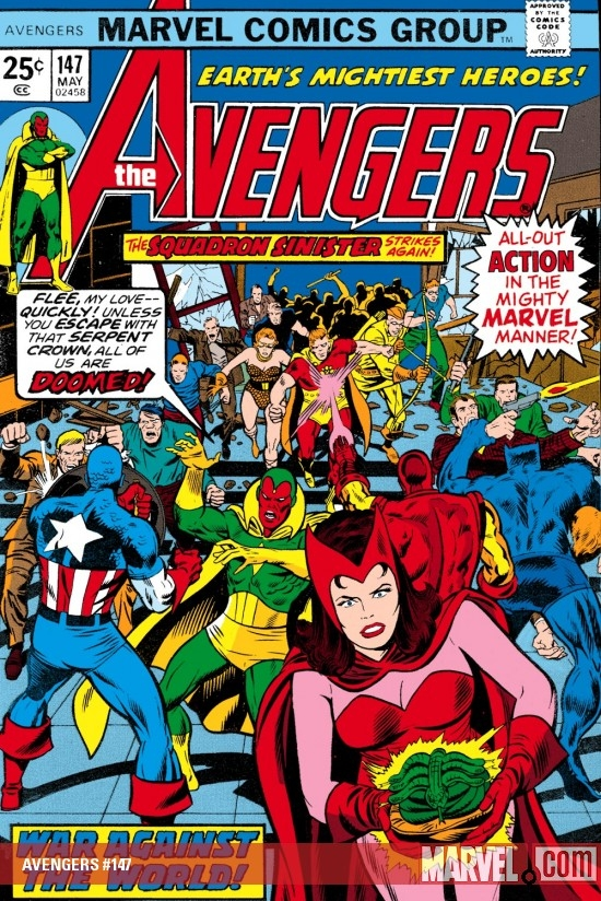 AVENGERS #147 COVER