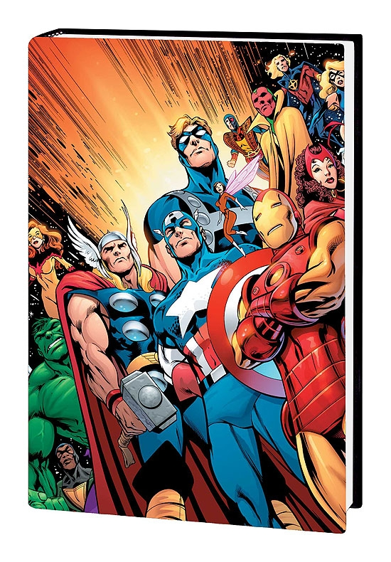 AVENGERS ASSEMBLE VOL. 4 COVER