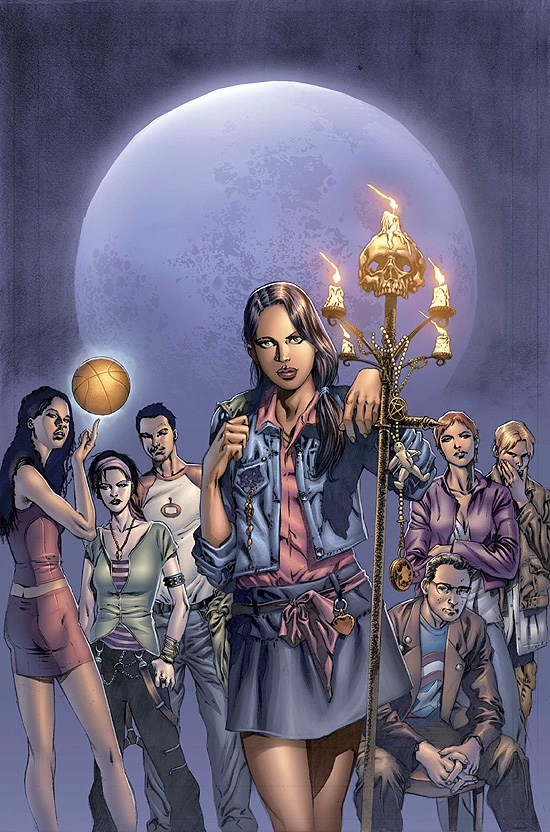 SPELLBINDERS (2006) #1 COVER