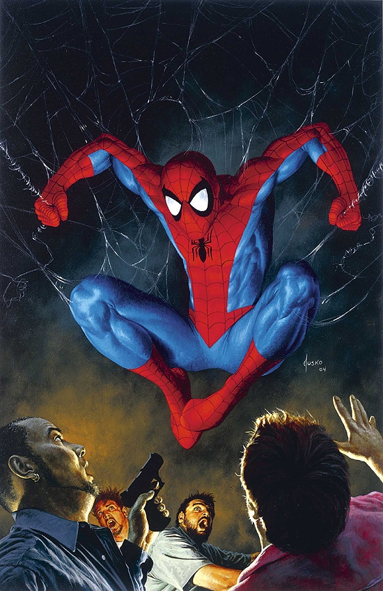 AMAZING SPIDER-MAN (2006) #518 COVER